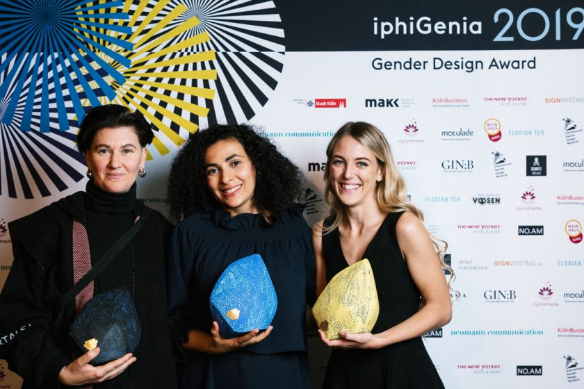 #iphi2019 The Winners: Gabriel A. Maher, Dr. Seba Ali and Rora Blue | ©Florian Yeh