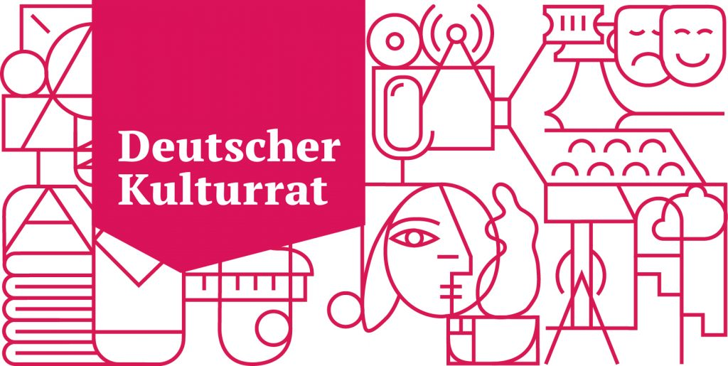 Deutscher Kultrurrat Illustration und Logo
